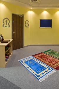 South Terminal chapel prayer rugs