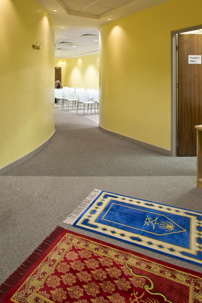South Terminal chapel prayer rugs2